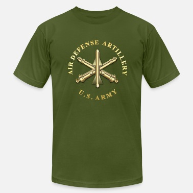 Air Defense Artillery ADA Branch Insignia - Men's  Jersey T-Shirt