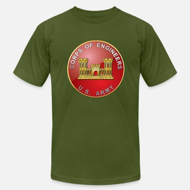 Branches USACE Branch Plaque - Men's  Jersey T-Shirt
