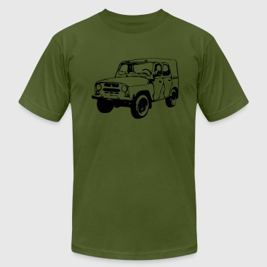 UAZ Jeep (1 color) - Men's Fine Jersey T-Shirt