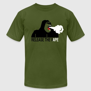 Vaporizer RELEASE THE VAPE - Men's Fine Jersey T-Shirt