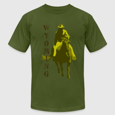 Wyoming - Men's Fine Jersey T-Shirt