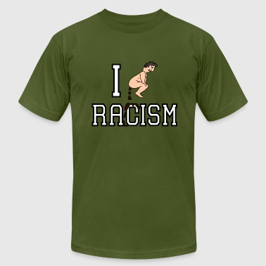 Funny Racism Shit on Racism - Men's Fine Jersey T-Shirt