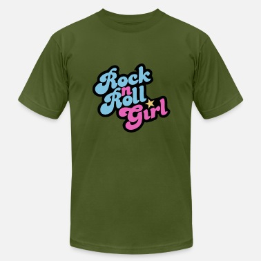 Rock N Roll Girl Rock n Roll Girl - Men's Fine Jersey T-Shirt