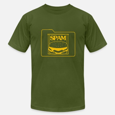 Spam Spam Folder - Men's Fine Jersey T-Shirt