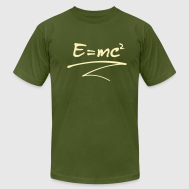 E = mc² - Men's Fine Jersey T-Shirt
