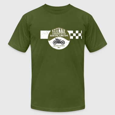 Motorcycle Racing - Men's Fine Jersey T-Shirt
