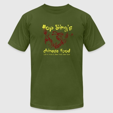 Hop Sing's Chinese Food - Distressed - Men's Fine Jersey T-Shirt