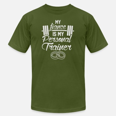 My Personal Trainer My Finace Is My Personal Trainer - Men's Fine Jersey T-Shirt