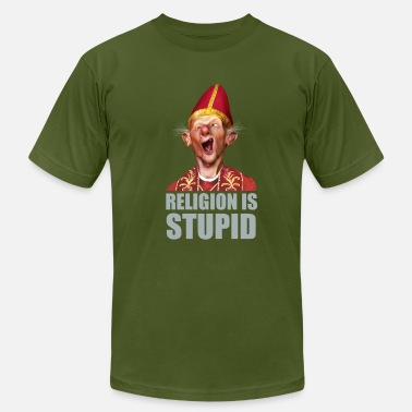 Religion is stupid - Men's  Jersey T-Shirt