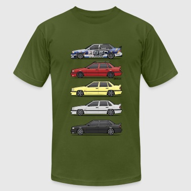 Stack of Volvo 850R 854R T5-R - Men's Fine Jersey T-Shirt