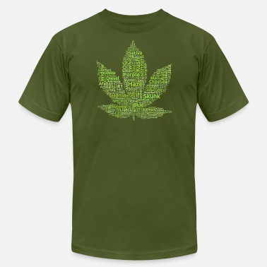 Jack Herer seedfinder.eu - strain leaf - Men's  Jersey T-Shirt