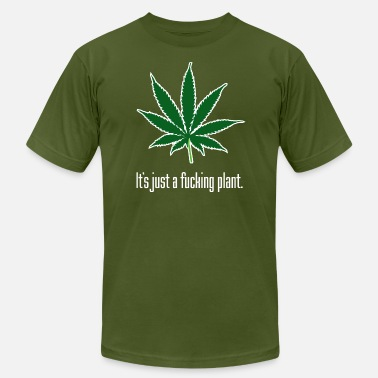 Legalize Marijuana Just A Plant W - Men's Fine Jersey T-Shirt