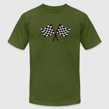 Race flags - Men's Fine Jersey T-Shirt