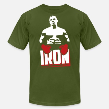 Mike Tyson Iron  (www.drazmisetas.com) - Men's  Jersey T-Shirt
