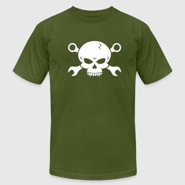 Skull 'n' Tools - Screw Pirate 2 - Men's Fine Jersey T-Shirt