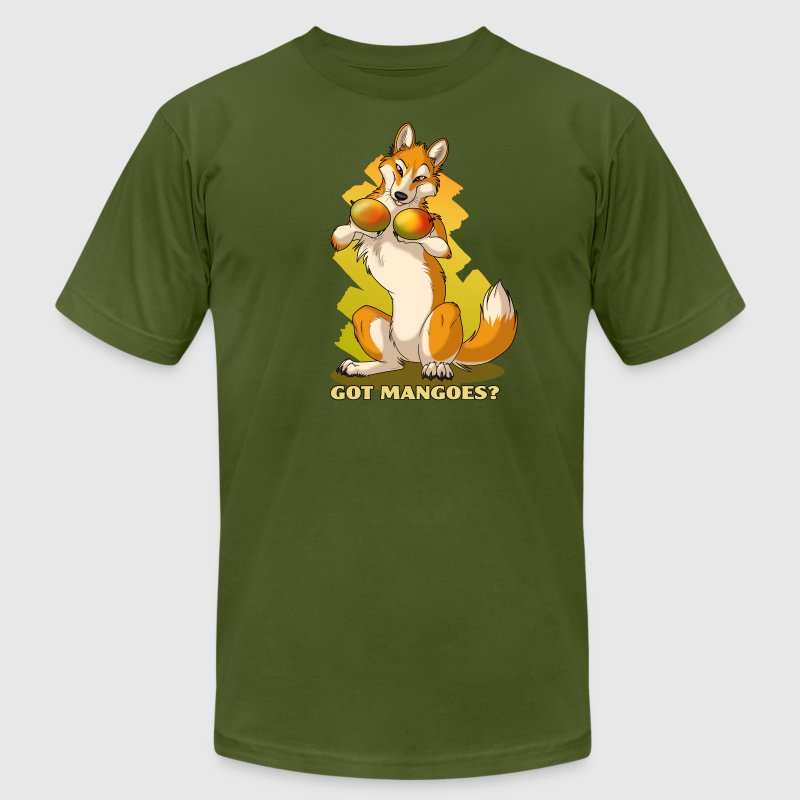Dingo Mango - Men's Fine Jersey T-Shirt