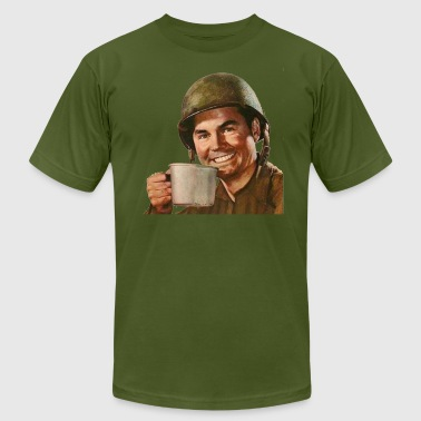 Army soldier - Men's Fine Jersey T-Shirt
