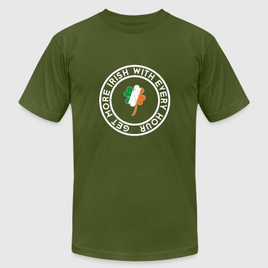 More and more Irish, with every hour more - Men's Fine Jersey T-Shirt