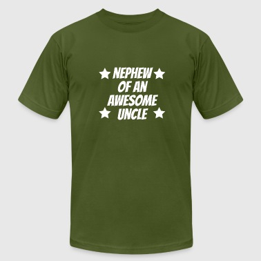 Uncle And Nephew Nephew Of An Awesome Uncle - Men's Fine Jersey T-Shirt
