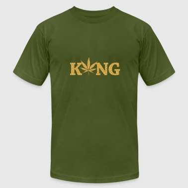 King marihuana - Men's Fine Jersey T-Shirt