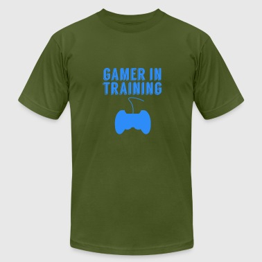Gamer In Training Video Games - Men's Fine Jersey T-Shirt