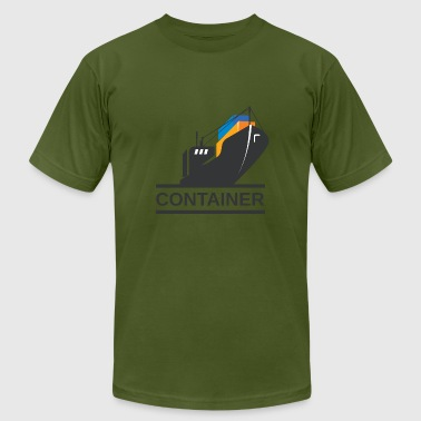 Container Ship - Men's Fine Jersey T-Shirt