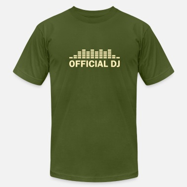 Official Dj official dj - Men's  Jersey T-Shirt