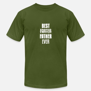 Fart Best Dad Funny Farting Dad Farting Dads gift - Men's Fine Jersey T-Shirt