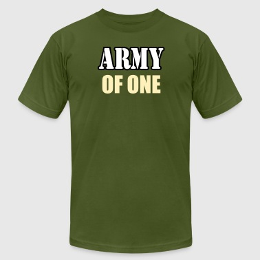 Army Of One - Men's Fine Jersey T-Shirt