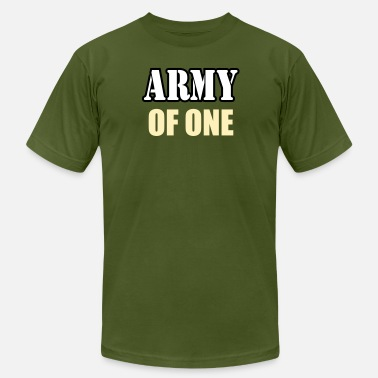 Army Of One Army Of One - Men's  Jersey T-Shirt