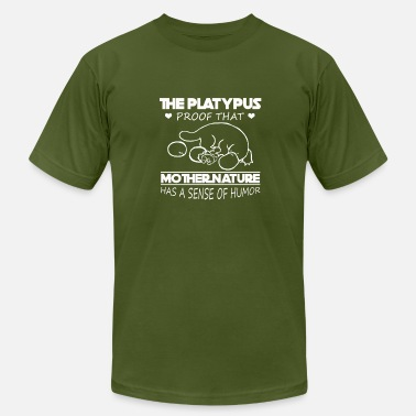 Platypus Clothing Platypus Tee Shirt - Men's Fine Jersey T-Shirt