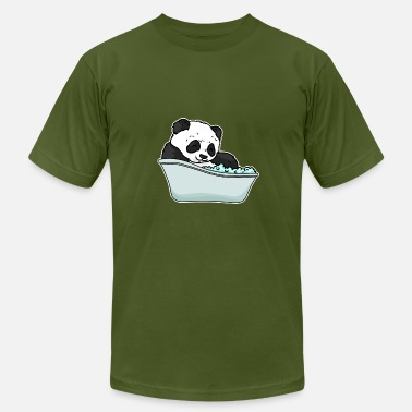 Bathtub Bathtub panda - Men's Fine Jersey T-Shirt