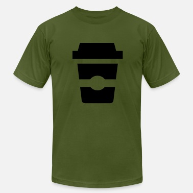 Takeaway Takeaway coffee - Men's Fine Jersey T-Shirt