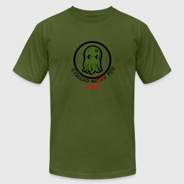 Cthulhu Loves You - Men's Fine Jersey T-Shirt