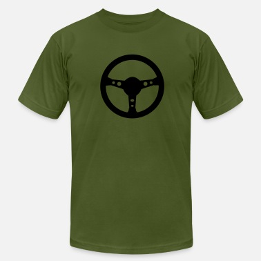 Steering Wheel Steering wheel car - Men's  Jersey T-Shirt