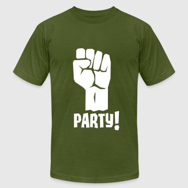 A Fistful of Party - Fight For Your Right To Party - Men's Fine Jersey T-Shirt