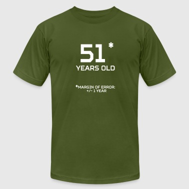 For The 51 Year Old 51 Years Old Margin 1 Year - Men's Fine Jersey T-Shirt