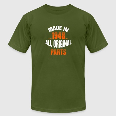 Made In 1948 All Original Parts - Men's Fine Jersey T-Shirt