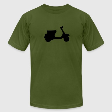 motorcycle - moped - Men's Fine Jersey T-Shirt
