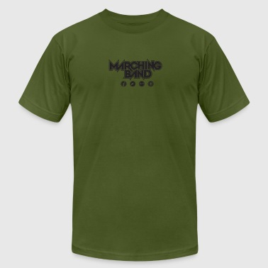 Marching Band - Men's Fine Jersey T-Shirt