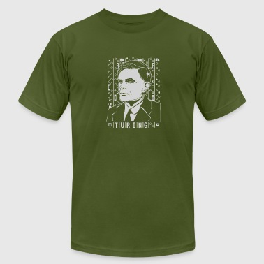 Alan Turing Tribute - Men's Fine Jersey T-Shirt