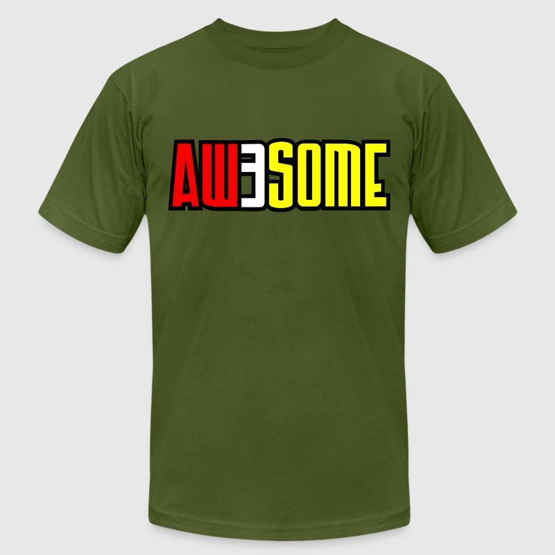 aw3some - Men's Fine Jersey T-Shirt