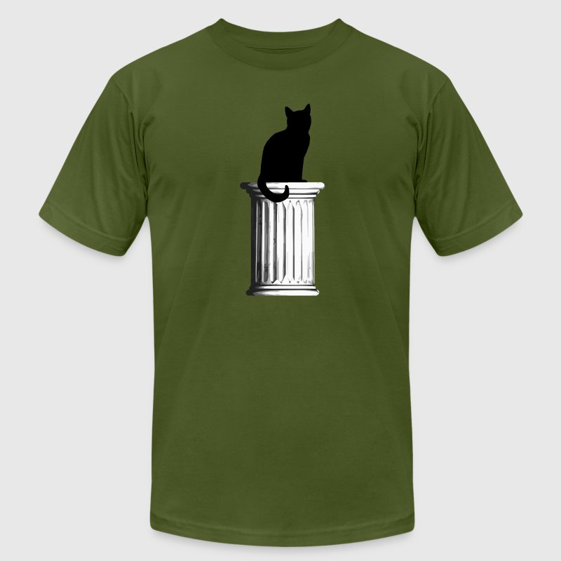 Pussy on a pedestal - Men's Fine Jersey T-Shirt