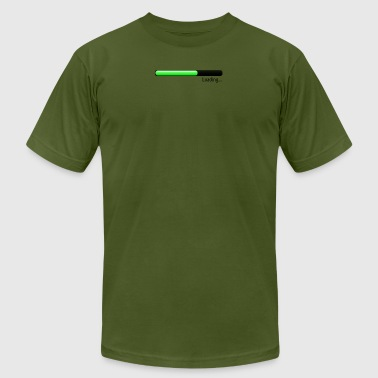 loading bar green - Men's Fine Jersey T-Shirt