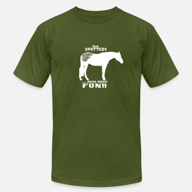Sayings Appaloosa Get spotted --Appaloosa - Men's  Jersey T-Shirt