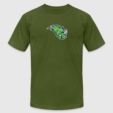 the green rhino - Men's Fine Jersey T-Shirt