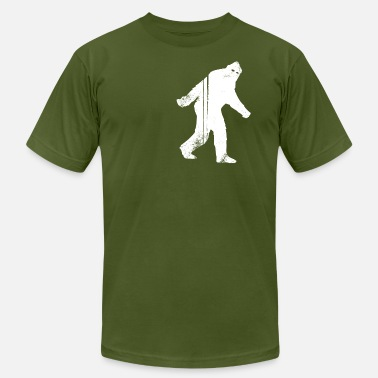 Bigfoot Illustrations Bigfoot - Mens AA Tee - Men's  Jersey T-Shirt