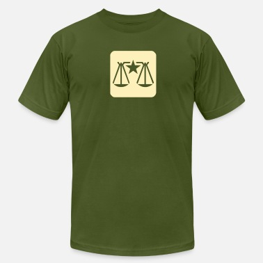 Law And Order Law & Order Balance Scale - Men's  Jersey T-Shirt