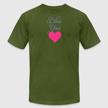 Bless Your Heart Shirt - Men's T-Shirt by American Apparel