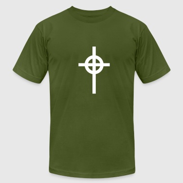Celtic cross - Men's Fine Jersey T-Shirt